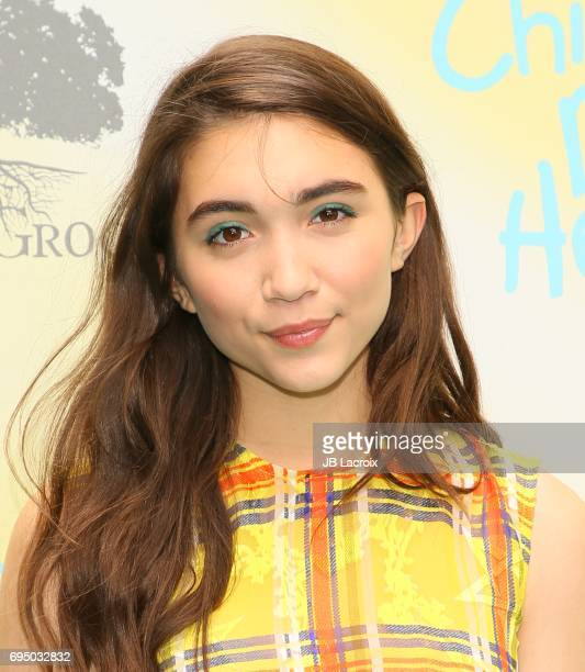 Rowan Blanchard attends the Children Mending Hearts 9th Annual Empathy Rocks Fundraiser on June 11 2017 in Beverly Hills California