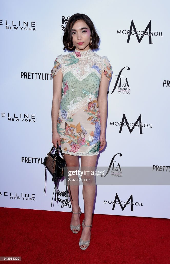 Rowan Blanchard attends The Daily Front Row's 4th Annual Fashion Los Angeles Awards at Beverly Hills Hotel on April 8, 2018 in Beverly Hills, California.