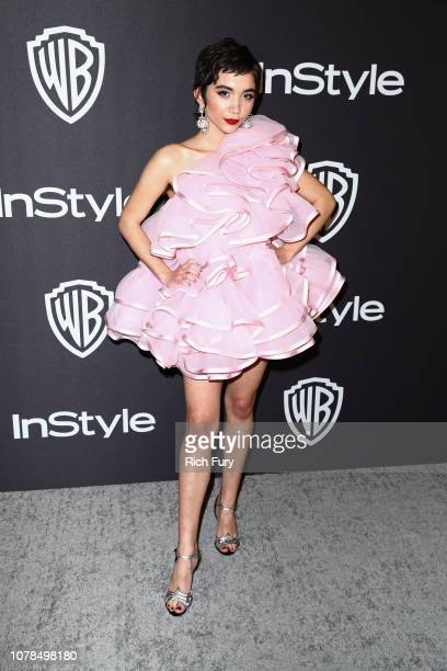 Rowan Blanchard attends the InStyle And Warner Bros Golden Globes After Party 2019 at The Beverly Hilton Hotel on January 6 2019 in Beverly Hills...