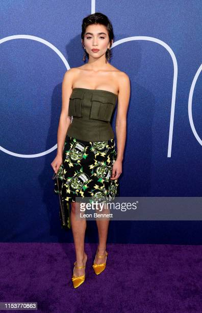Rowan Blanchard attends the LA Premiere of HBO's Euphoria at The Cinerama Dome on June 04 2019 in Los Angeles California