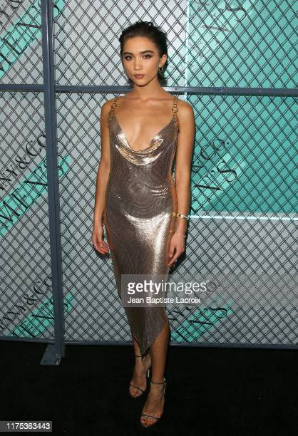 Rowan Blanchard attends the Tiffany Co Celebrates Launch of New Tiffany Men's Collections at the Hollywood Athletic Club on October 11 2019 in Los...