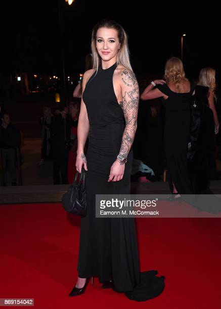 Rowan Cheshire attends the Team GB Ball at Victoria and Albert Museum on November 1 2017 in London England