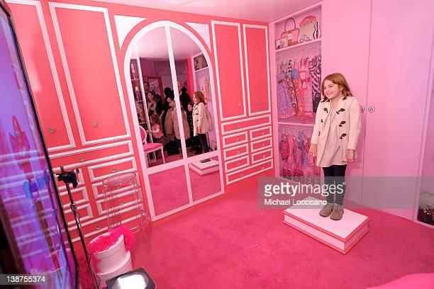Rowan Francis Henchy attends Barbie The Dream Closet Playdate Saturday February 11th at David Rubenstein Atrium on February 11 2012 in New York City