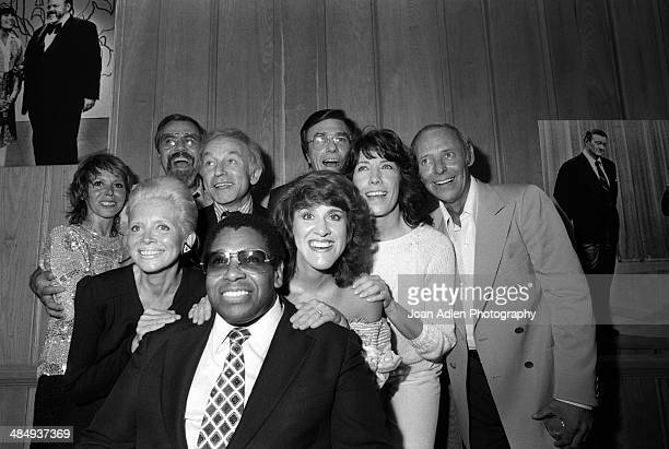 Rowan Martin's LaughIn cast reunion Producer/Director George Schlatter with cast members Gary Owens Judy Carne Henry Gibson Lily Tomlin Larry Hovis...