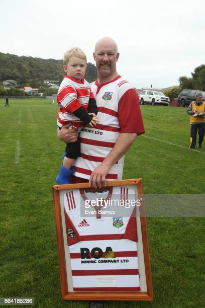 Rowan O'Gorman of West Coast reached 50 games during the Heartland Championship Semi Final match between West Coast and North Otago on October 21...