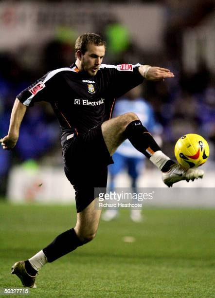 Rowan Vine of Luton in action during the Coca-Cola Championship match between Reading and Luton Town at the Madejski Stadium on December 3, 2005 in...
