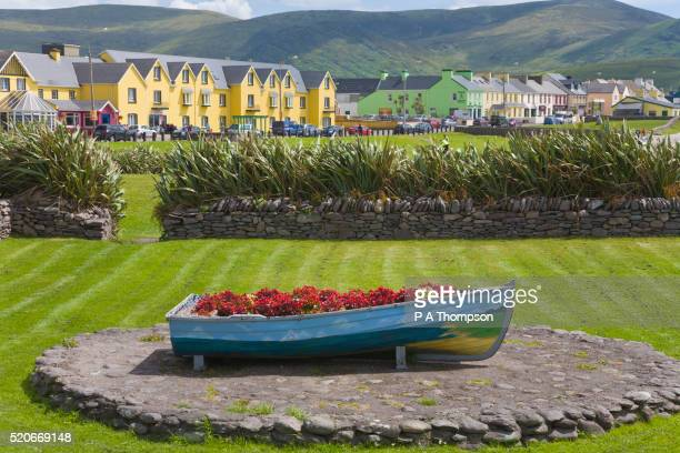Rowboat Flower Container in Waterville