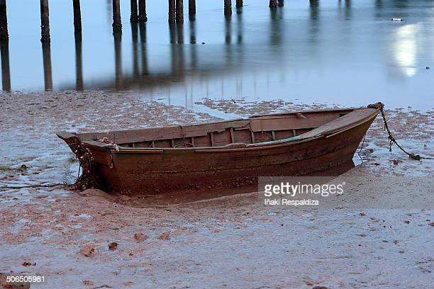 rowboat - iñaki respaldiza stock pictures, royalty-free photos & images
