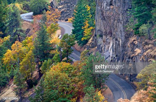 rowena crest road - pacific crest trail stock pictures, royalty-free photos & images