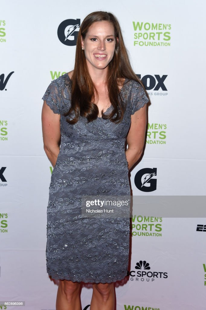 Rower Tracy Eisser attends the The Women's Sports Foundation's 38th Annual Salute To Women in Sports Awards Gala on October 18, 2017 in New York City.