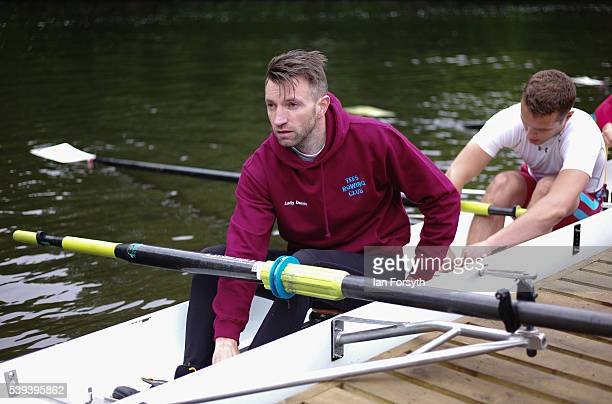 Rowers from across the country prepare to take part in the 183rd annual regatta on the River Wear on June 11 2016 in Durham England The present...