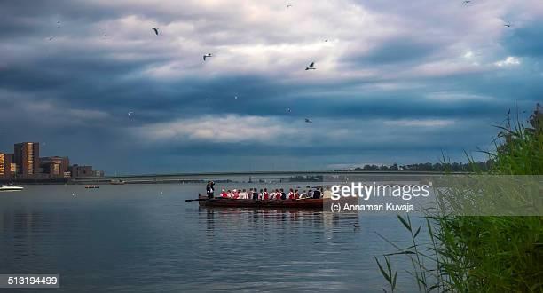 Rowing ahead