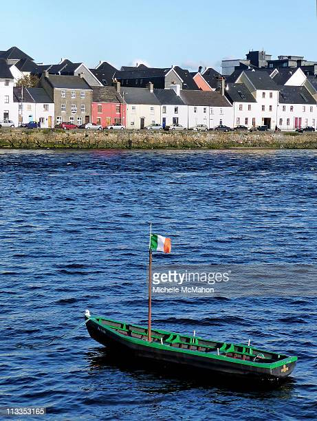 Rowing boat at the Claddagh