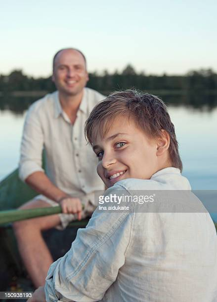 rowing boat - hazel bond stock photos and pictures