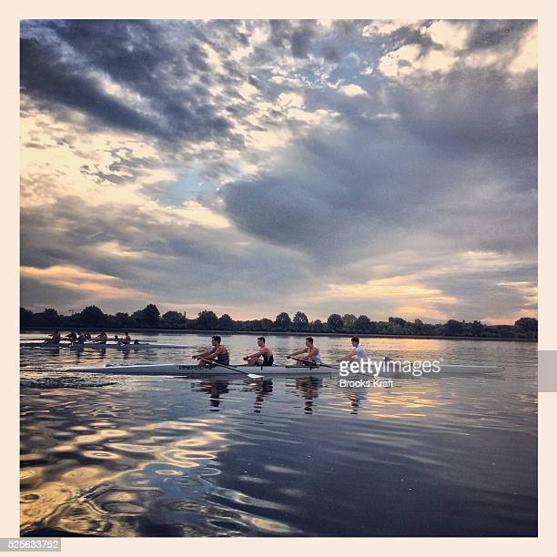 Rowing on the Potomac River in Washington DC