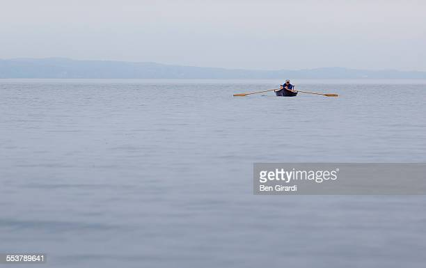 rowing - skaneateles lake stock pictures, royalty-free photos & images