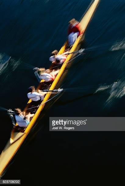 Rowing Team on Lake Union