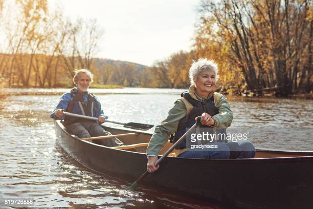 Rowing their way to a relaxing retirement