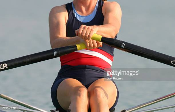 Rowing, woman single sculler