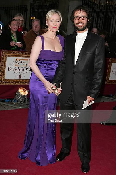 Rowling and Dr Neil Murray attend the Galaxy British Book Awards at the Grosvenor House Hotel on April 9 2008 in London England