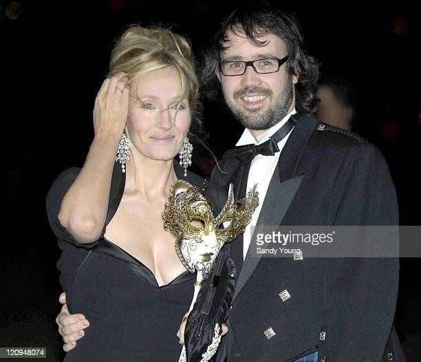JK Rowling and her husband Neil Murray during The Masquerade Ball to Benefit the Multiple Sclerosis Society March 17 2006 at Stirling Castle in...