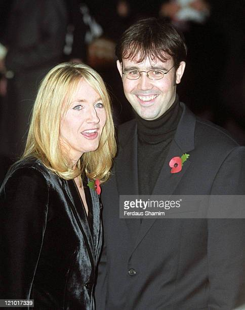J K Rowling and her husband Neil Murray