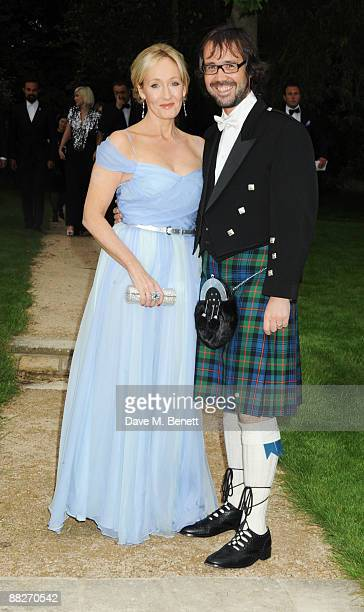 Rowling and husband Neil Murray arrive at the Raisa Gorbachev Foundation Annual Fundraising Gala Dinner at the Stud House Hampton Court Palace on...
