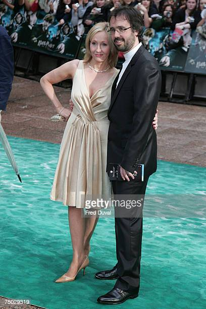 Rowling and husband Neil Murray attend the Harry Potter And The Order Of The Phoenix UK premiere held at the Odeon Leicester Square on July 3 2007 in...