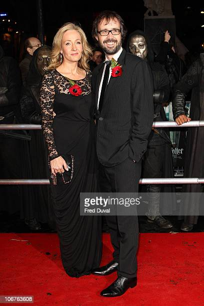 Rowling and husband Neil Murray attend the world premiere of Harry Potter and The Deathly Hallows part1 at Odeon Leicester Square on November 11 2010...