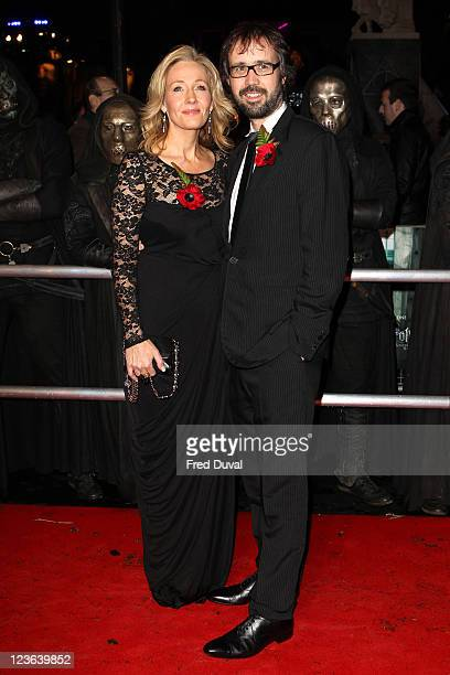 JK Rowling and husband Neil Murray attend the world premiere of Harry Potter and The Deathly Hallows part1 at Odeon Leicester Square on November 11...