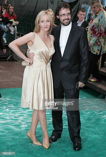 Rowling and husband Neil Murray attends the Harry Potter And The Order Of The Phoenix UK premiere held at the Odeon Leicester Square on July 3 2007...