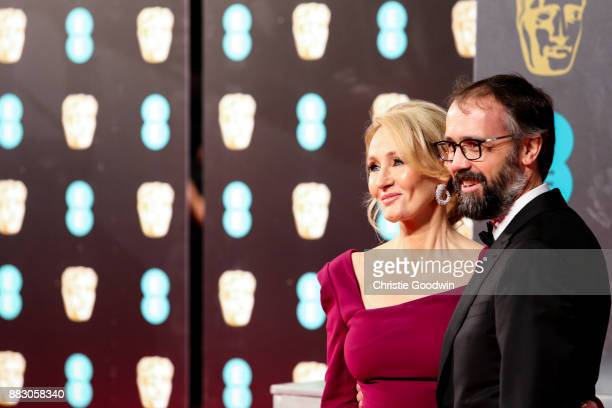 Rowling and Neil Murray at the British Academy Film Awards 2017 at The Royal Albert Hall on February 12 2017 in London England