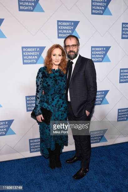 K Rowling and Neil Murray attend the Robert F Kennedy Human Rights Hosts 2019 Ripple Of Hope Gala Auction In NYC on December 12 2019 in New York City