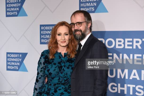 Rowling and Neil Murray attend the Robert F. Kennedy Human Rights Hosts 2019 Ripple Of Hope Gala & Auction In NYC on December 12, 2019 in New York...