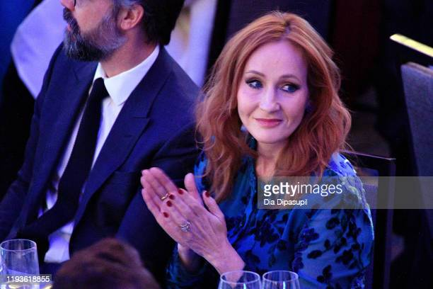K Rowling arrives at the 2019 RFK Ripple of Hope Awards at New York Hilton Midtown on December 12 2019 in New York City