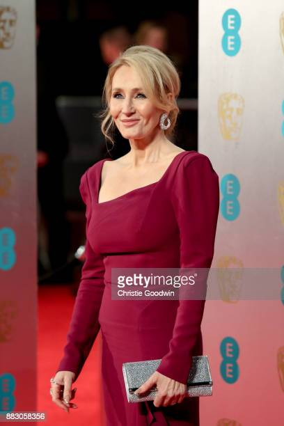 Rowling at the British Academy Film Awards 2017 at The Royal Albert Hall on February 12 2017 in London England
