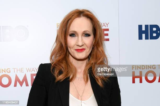 K Rowling attends HBO's Finding The Way Home World Premiere at Hudson Yards on December 11 2019 in New York City