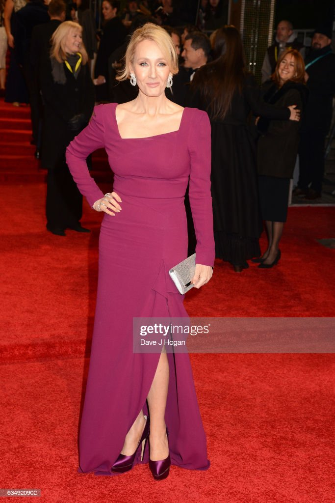 J. K. Rowling attends the 70th EE British Academy Film Awards (BAFTA) at Royal Albert Hall on February 12, 2017 in London, England.