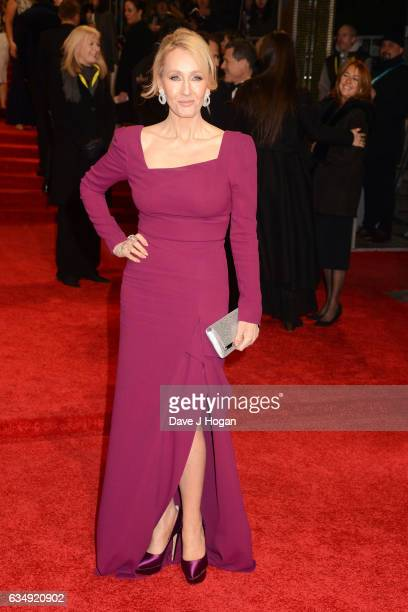 J K Rowling attends the 70th EE British Academy Film Awards at Royal Albert Hall on February 12 2017 in London England