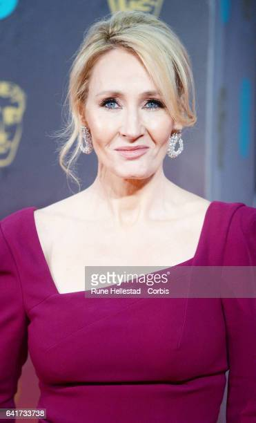 JK Rowling attends the 70th EE British Academy Film Awards at Royal Albert Hall on February 12 2017 in London England