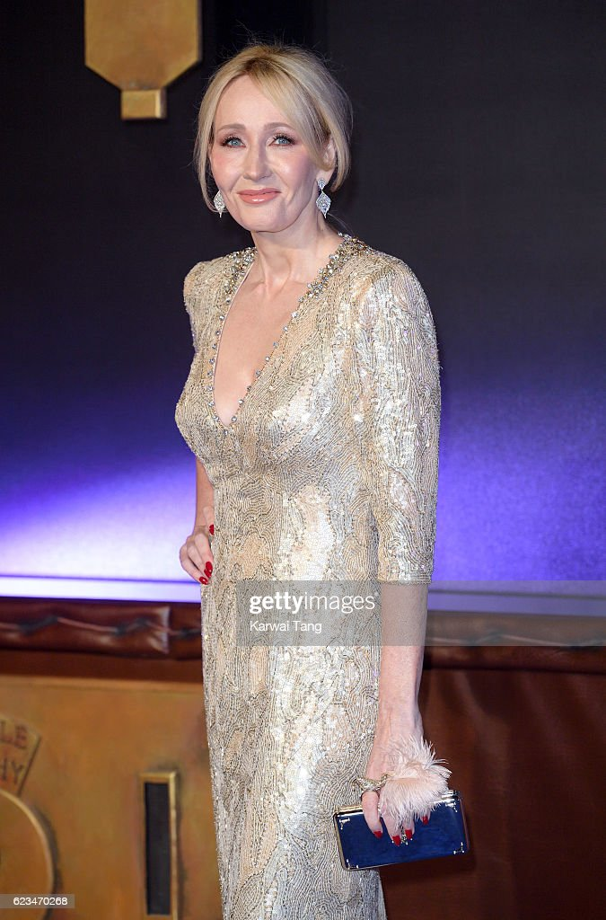J. K. Rowling attends the European premiere of 'Fantastic Beasts And Where To Find Them' at Odeon Leicester Square on November 15, 2016 in London, England.