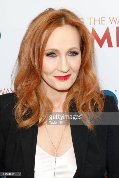 K Rowling attends the premiere of Finding the Way Home at Hudson Yards on December 11 2019 in New York City