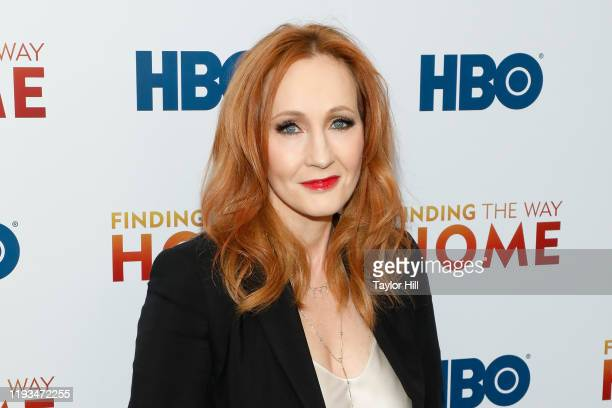 """Rowling attends the premiere of """"Finding the Way Home"""" at Hudson Yards on December 11, 2019 in New York City."""