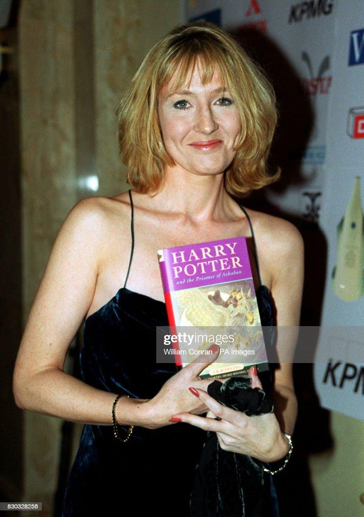 Brit Bk Awards Rowling : News Photo