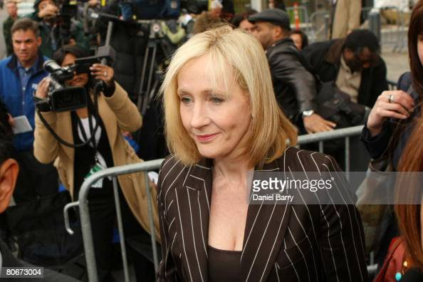 Harry Potter Camera Crew : J.k. rowling author of the harry potter books leaves the u.s.