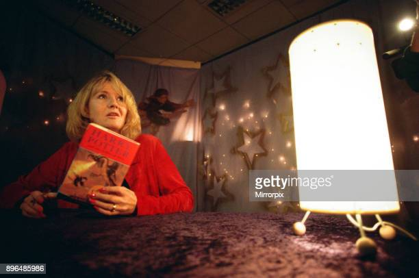 Rowling signs copies of 'Harry Potter and the Goblet of Fire' in Newcastle, 10th July 2000.