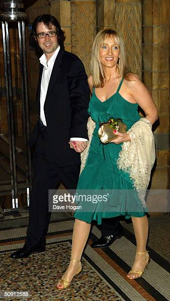 Rowling with husband Neil attend the UK Party of Harry Potter And The Prisoner Of Azkaban at the Natural History Museum on May 30 2004 in London The...