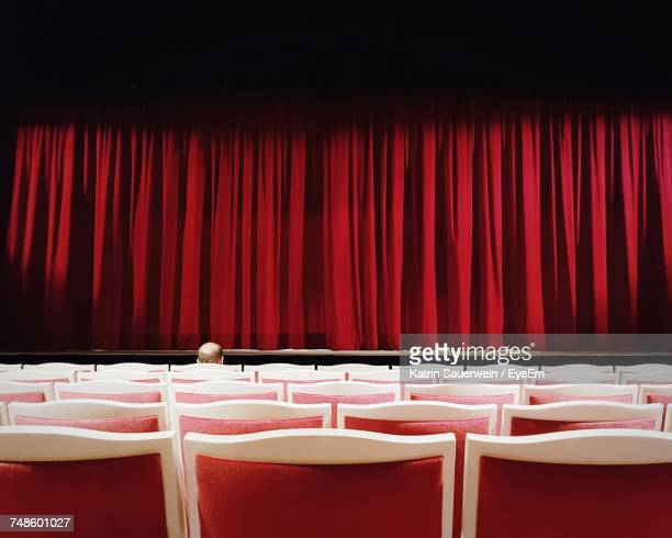 Rows Of Chairs In Theater