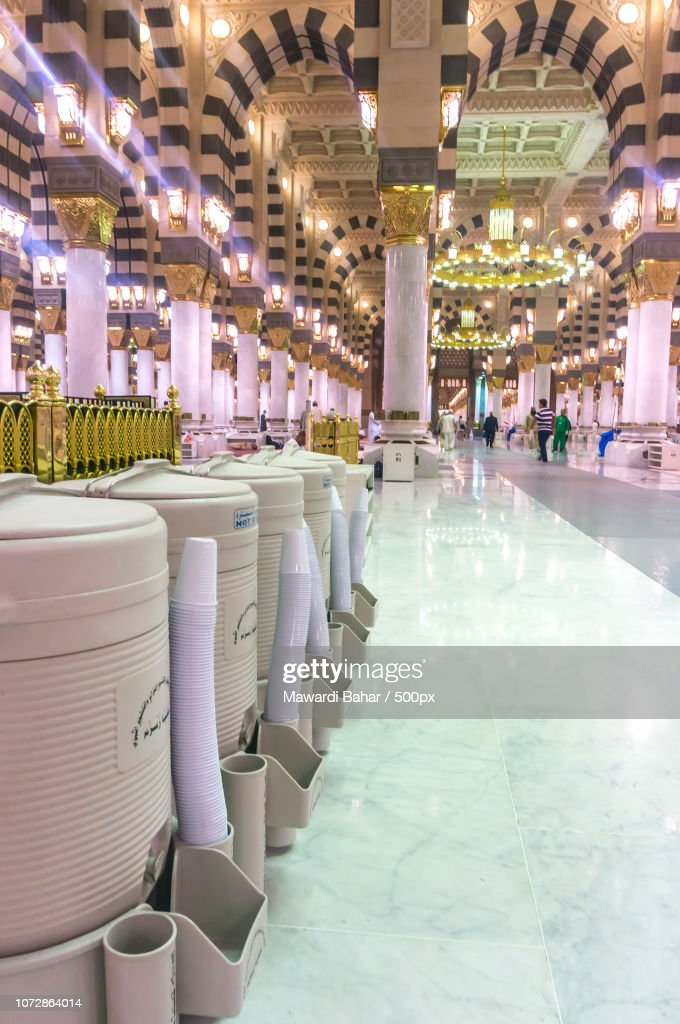 Al Madinah Kingdom Of Saudi Arabia Mac 3 Rows Of Drums Of