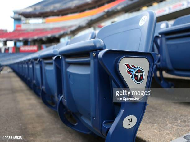 Rows of empty seats at Nissan Stadium where fans were not present for a match between Nashville SC and Inter Orlando City SC, September 2 at Nissan...